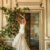 mermaid bride dress
